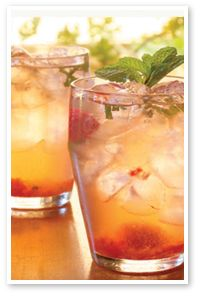 "Moscato Red Raspberry Mojito - Recipe under ""Food & Wine"""