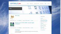SoftSkillsGuru - Blog Design