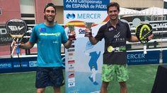 Gonzalo Rubio y Javi Ruiz Campeones de España. #Pádel #PádelMasculino #PádelCompetición.