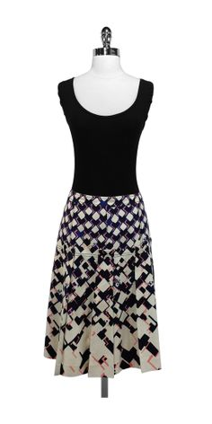 Current Boutique - Tory Burch - Geo Pattern Pleated Silk Skirt Sz 10, $122.99 (http://www.currentboutique.com/tory-burch-geo-pattern-pleated-silk-skirt-sz-10/)