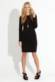 nice basic black dress