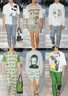 Milan Menswear Print Highlights – Spring/Summer 2015 catwalks