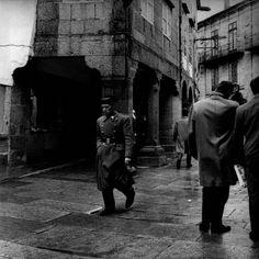 Guardia civil, desparejado. Santiago de Compostela, 1961