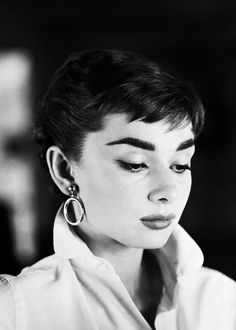 Audrey Hepburn photographed by Mark Shaw, 1953