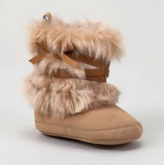 Faux Fur Boot - Sooooooo cute!!