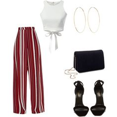A fashion look from January 2018 featuring Yves Saint Laurent sandals, Miss Selfridge shoulder bags and Magda Butrym earrings. Browse and shop related looks. Summer Outfits, Casual Outfits, Fashion Outfits, Womens Fashion, Looks Party, Look Girl, Outfit Trends, Inspiration Mode, Everyday Outfits