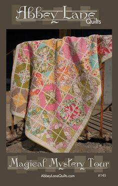 Magical Mystery Tour Quilt Pattern by Abbey Lane by southernfabric, $9.49
