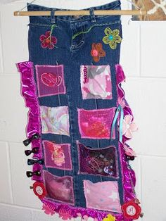 Creating my way to Success: Upcycling Jeans - clothes upcycling challenge day 19 and My Creative Space