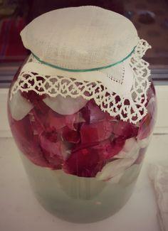 Red roses juice #redroses #homemade #cosas #rosesjuice
