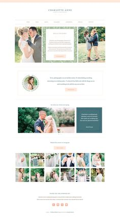 Charlotte ProPhoto Blogsite Home Page. Designed by Seaside Creative.