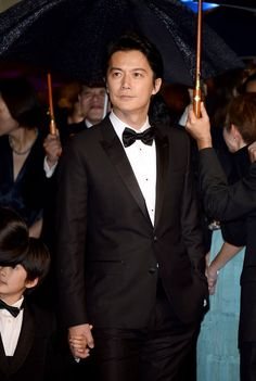 #Actor Masaharu Fukuyama in #Dolce & Gabbana suit attends the Premiere of 'Soshite Chichi Ni Naru' (Like Father, Like Son) during The 66th Annual #Cannes #Film #Festival