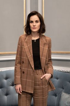 Michelle Dockery Photos - Michelle Dockery poses during the Rome Film Festival on October 2019 in Rome, Italy. - Michelle Dockery Portrait Session - Self Assignment Michelle Dockery, Dramatic Classic, Casual Outfits, Fashion Outfits, Badass Women, Future Fashion, Woman Face, Capsule Wardrobe, Beautiful People