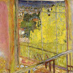 """Pierre Bonnard, """"L'atelier au mimosa"""", 1939-1946, Paris Centre Pompidou, Musée national d'art moderne, acquis en 1979"""