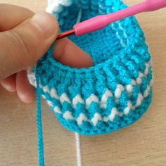 Tina's handicraft : baby shoes