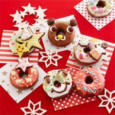 クリスマスデコ焼きドーナツの作り方 手作りチョコレシピ 株式会社 明治