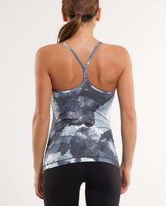 lulumon- got this tank for xmas and MUST have more!!  awesome for the gym