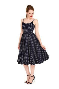 ea85cb0588 The Pretty Dress Company Priscilla Polka Dot Midi Dress - Shop from The  Pretty Dress Company