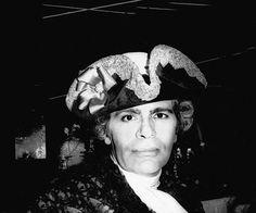 Karl Lagerfeld à son bal vénitien du Palace, 1978