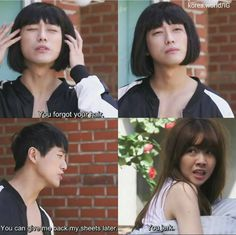 I was screaming at this part of the drama ........Beautiful Gong Shim #korean #drama