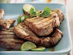 Ginger-Lime fish Steaks