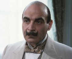 """Hercule Poirot. David Suchet stars as Agatha Christie's famous Belgian detective who always gets embroiled in a mystery, usually along with his faithful sidekick Captain Hastings and/or Scotland Yard chief inspector Japp. Poirot operates as a fairly conventional, clue-based detective, depending on logic, which is represented in his vocabulary by two common phrases: """"the little grey cells"""" and """"order and method""""."""