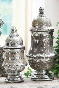 Etched Mercury Glass {Design Crush} The Creativity Exchange