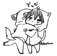 Free! - Iwatobi Swim Club, free!, iwatobi, makoto tachibana, makoto, tachibana, haruka nanase, haru nanase, haru, haruka, nanase, cat, dog, neko