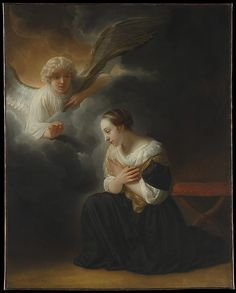 The Annunciation of the Death of the Virgin - Samuel van Hoogstraten