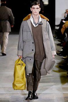 Saint Laurent Fall 2007 Menswear Fashion Show