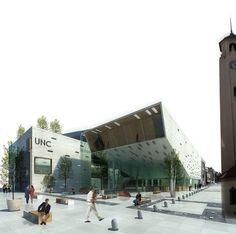 segovia arquitectos: Centro Cultural do Concurso Nacional UNC - Córdoba - Arquitectura - Arquitetura Cultural Architecture Career, Cultural Architecture, Concept Architecture, Architecture Design, Theatre Design, Library Design, Roof Detail, Cultural Center, Flat Roof