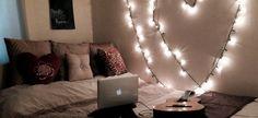 18 ιδέες για να στολίσεις με φωτάκια το δωμάτιό σου