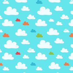 Kinderstoffe - Luckysky -sky - by Cherry Picking - ein Designerstück von dieZauberfee bei DaWanda