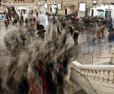 Rush Hour, Grand Central Station.  by Rico Elvina.