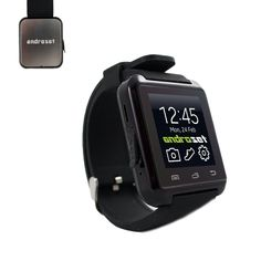 M26 Bluetooth Smart Wrist Watch Phone Mate For IOS Android iPhone Samsung LG HTC (Black). ANDROSET Bluetooth Smart Watch Bracelet Waterproof with Calorie Counter Pedometer Functions For Phones IOS iPhone Android Samsung Sony HTC LG. Features: wear-resisting, corrosion resistance and no harmless to skin, waterproof, WIFI Hotspots Providing, Real-time Pedometer, Calories Consumed Caculator, Long Distance Connection, Multi-language Support, Answering phone calls, Reject Call, Alarm Clock...