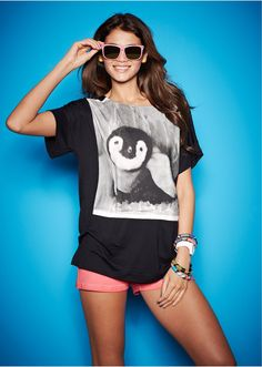 #penguin #print #shirt #bonprix