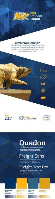ASUC Student Union Branding | UC Berkeley on Behance
