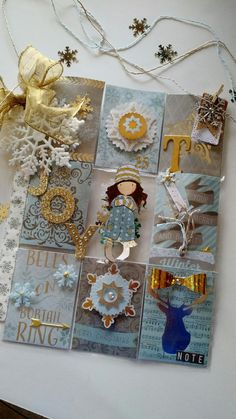 Pocket letter created by Brenda Enright.