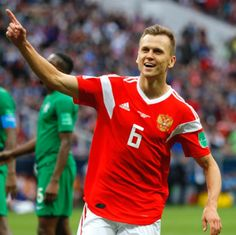 20180614 Russia 5-0 Saudi Arabia - Denis Cheryshev (Photo Credit : Kevin C. Cox/Getty Images)