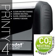 TRODAT PRINTY Stamps doesn't just impress with its appealing design, it is also the world's first climate-neutral stamp. #trodat #stamps #appealing #design #climate-neutral #first #altarkeez #dubai #success #contactus  For more information and queries please contact us: Al Tarkeez Trading LLC Phone: (00971) 4 294 1171 - (00971) 4 294 1173 Fax: (00971) 4 294 1188 Email: info@tarkeez.net www.tarkeez.net Al Garhoud, Ithraa Plaza bld, Office number: 302, Dubai - U.A.E
