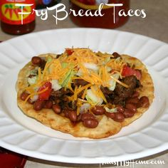 Fry Bread Tacos - That's My Home