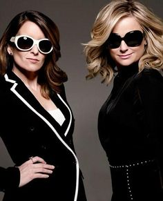 Our favorite golden girls, Tina Fey and Amy Poehler.