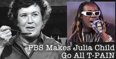PBS remixes Julie Child - we knew she could cook, but Julia remixed? OH MY.