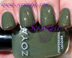 Scrangie: Zoya Smoke and Mirrors Collection Fall 2011 Swatches and Review Yara