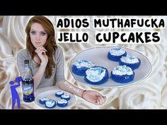 How to make Adios Muthafu*ka Jello Shots - Tipsy Bartender - YouTube