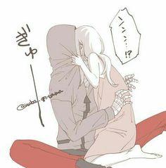 Sad Anime, Kawaii Anime, Manga Anime, Anime Art, Anime Couples Drawings, Couple Drawings, Angel Of Death, Cute Anime Pics, Cute Anime Couples