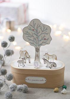 DIY Noël: une crèche en papier à faire avec les enfants - Marie Claire Idées