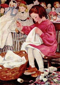 Riscos de pintura em tecido para garotas!