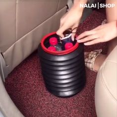 This Car Folding Bin can be stretch at your will to be portable storage. With high-quality plastic that is thick and tough. It is half-folded that the mouth of the barrel can be stretched at any angle. And with sufficient durable materials, folding a Car Cleaning Hacks, Car Hacks, Car Life Hacks, Car Gadgets, Gadgets And Gizmos, Cool Inventions, Useful Life Hacks, Cool Things To Buy, Stretching
