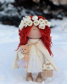 """256 Me gusta, 5 comentarios - Куклы ручной работы (@_little_dolls_) en Instagram: """"Сказочная девочка! Не продается #куклыольгипономаревой #littledolls #куклыручнойработы"""""""