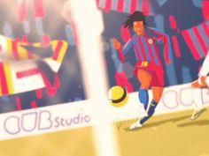 Goal! by Fraser Davidson #Design Popular #Dribbble #shots